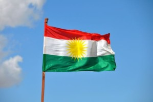 The Flag of Kurdistan